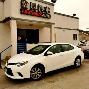 2015 Toyota Corolla for sale at Fastrack Auto Inc in Rosemead CA