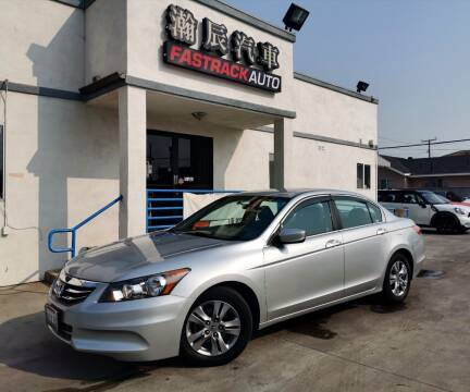 2012 Honda Accord for sale at Fastrack Auto Inc in Rosemead CA