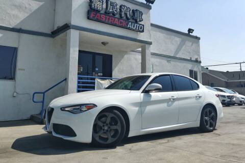 2017 Alfa Romeo Giulia for sale at Fastrack Auto Inc in Rosemead CA