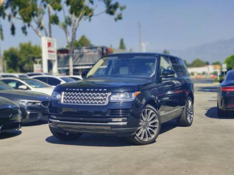 2016 Land Rover Range Rover for sale at Fastrack Auto Inc in Rosemead CA