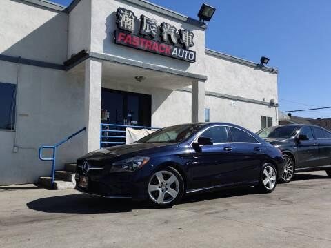 2017 Mercedes-Benz CLA for sale at Fastrack Auto Inc in Rosemead CA