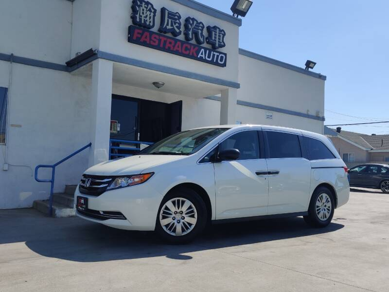 2016 Honda Odyssey for sale at Fastrack Auto Inc in Rosemead CA