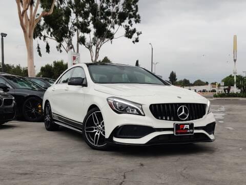 2018 Mercedes-Benz CLA for sale at Fastrack Auto Inc in Rosemead CA