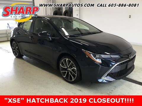 2019 Toyota Corolla Hatchback for sale in Watertown, SD