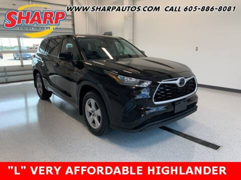 2020 Toyota Highlander for sale at Sharp Automotive in Watertown SD