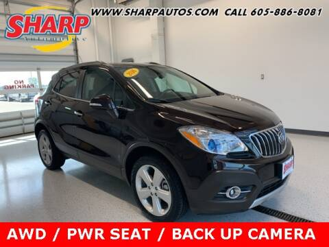 2016 Buick Encore for sale at Sharp Automotive in Watertown SD