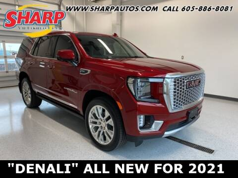 2021 GMC Yukon for sale at Sharp Automotive in Watertown SD