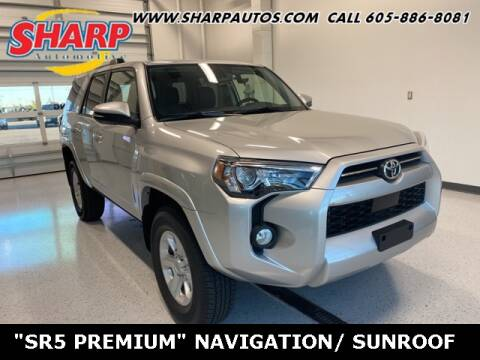 2020 Toyota 4Runner for sale at Sharp Automotive in Watertown SD