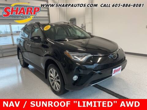 2017 Toyota RAV4 for sale at Sharp Automotive in Watertown SD