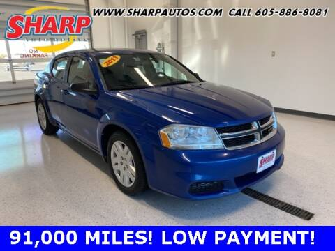 2013 Dodge Avenger for sale at Sharp Automotive in Watertown SD