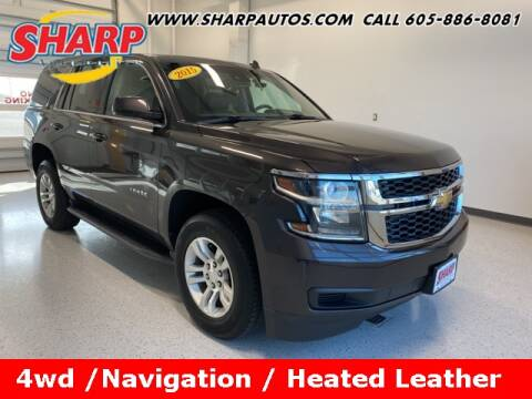 2015 Chevrolet Tahoe for sale at Sharp Automotive in Watertown SD