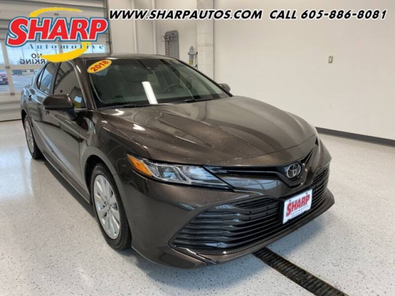 2018 Toyota Camry for sale at Sharp Automotive in Watertown SD