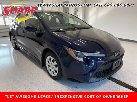 2021 Toyota Corolla for sale at Sharp Automotive in Watertown SD