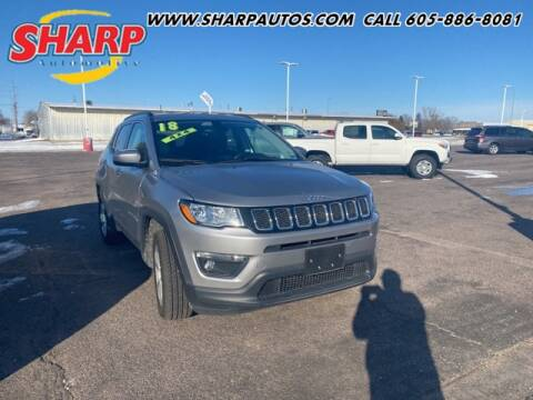 2018 Jeep Compass for sale at Sharp Automotive in Watertown SD