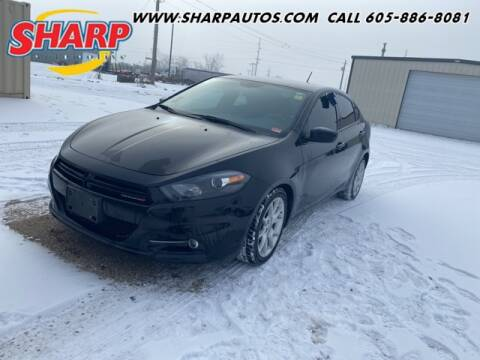 2013 Dodge Dart for sale at Sharp Automotive in Watertown SD