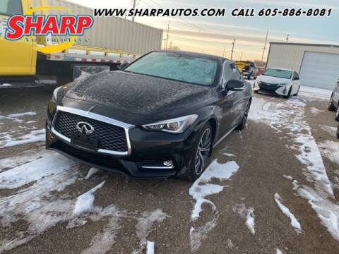 2017 Infiniti Q60 for sale at Sharp Automotive in Watertown SD