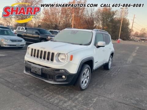 2017 Jeep Renegade for sale at Sharp Automotive in Watertown SD