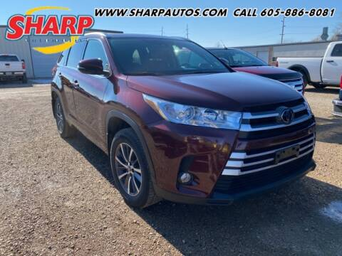 2018 Toyota Highlander for sale at Sharp Automotive in Watertown SD