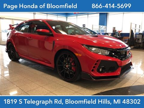 2019 Honda Civic for sale in Bloomfield Hills, MI