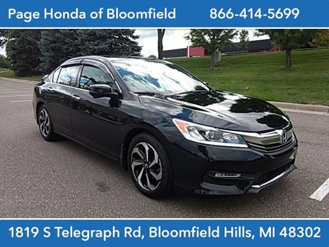 2016 Honda Accord for sale in Bloomfield Hills, MI