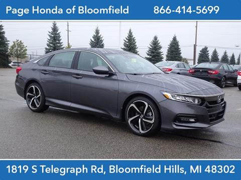 2019 Honda Accord for sale in Bloomfield Hills, MI