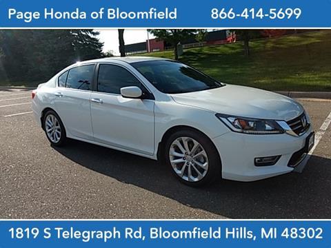 2013 Honda Accord for sale in Bloomfield Hills, MI