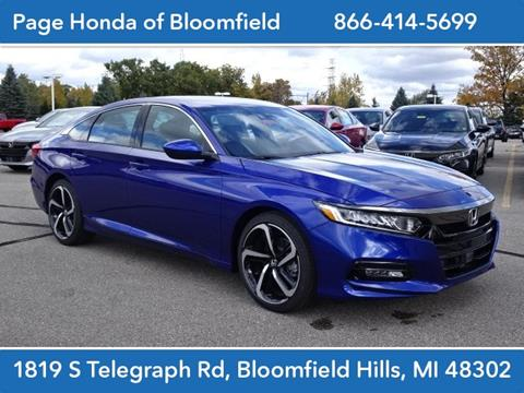 2020 Honda Accord for sale in Bloomfield Hills, MI