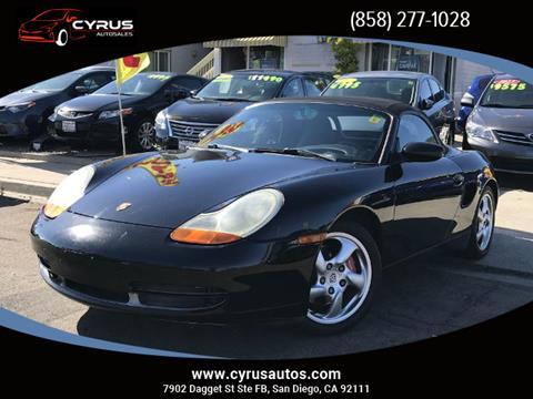 2002 Porsche Boxster For Sale In Lehi Ut Carsforsale