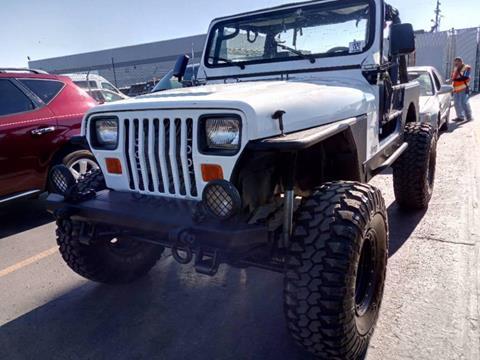 1988 Jeep Wrangler for sale in Tonasket, WA