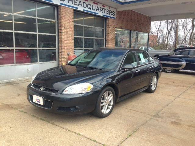 2012 Chevrolet Impala For Sale At County Seat Motors West   County Seat  Motors East In