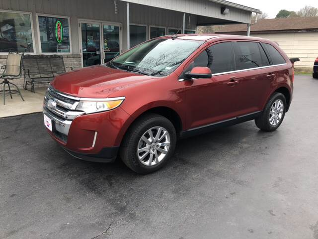 Ford Edge For Sale At County Seat Motors West In Union Mo