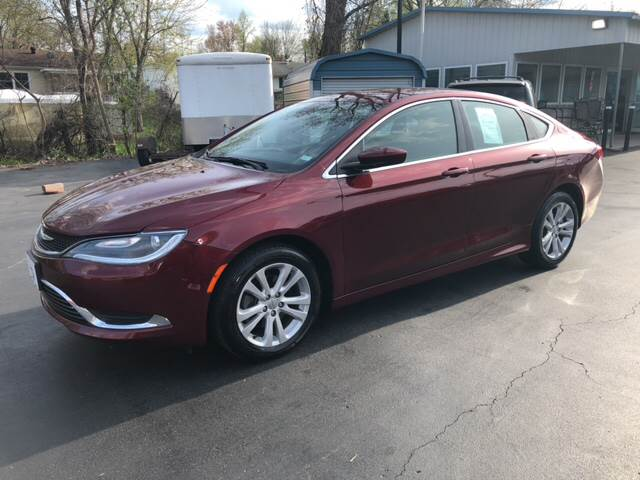 2015 Chrysler 200 For Sale >> 2015 Chrysler 200 Limited In Union Mo County Seat Motors West