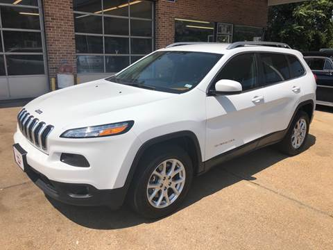 2016 Jeep Cherokee for sale at County Seat Motors East in Union MO