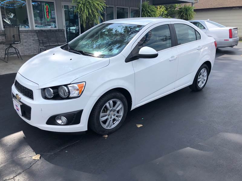 2012 Chevrolet Sonic For Sale At County Seat Motors In Union MO