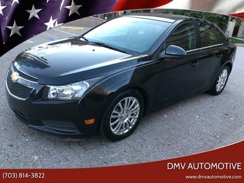 2012 Chevrolet Cruze for sale in Falls Church, VA