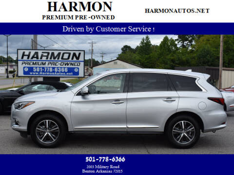 2019 Infiniti QX60 for sale at Harmon Premium Pre-Owned in Benton AR