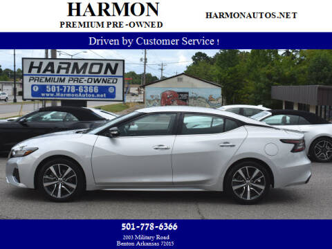 2020 Nissan Maxima for sale at Harmon Premium Pre-Owned in Benton AR