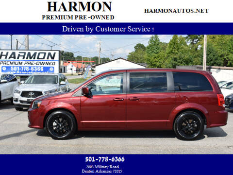 2019 Dodge Grand Caravan for sale at Harmon Premium Pre-Owned in Benton AR