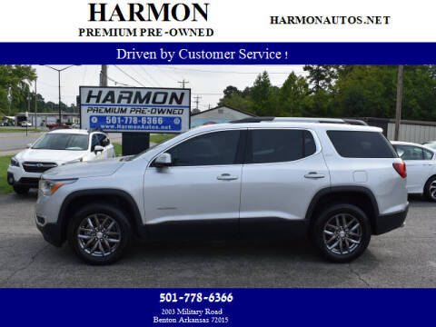 2018 GMC Acadia for sale at Harmon Premium Pre-Owned in Benton AR