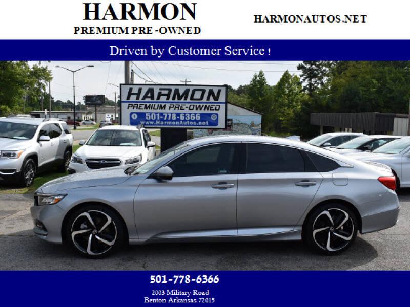 2018 Honda Accord for sale at Harmon Premium Pre-Owned in Benton AR