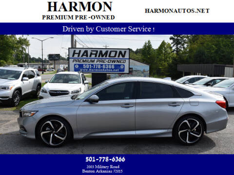 2018 Honda Accord for sale at Harmon Premium Pre-Owned in Benton AR