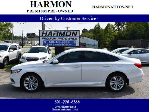 2020 Honda Accord for sale at Harmon Premium Pre-Owned in Benton AR