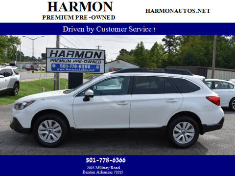 2019 Subaru Outback for sale at Harmon Premium Pre-Owned in Benton AR
