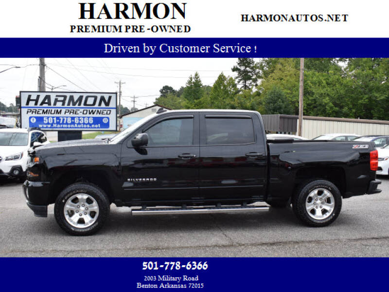 2017 Chevrolet Silverado 1500 for sale at Harmon Premium Pre-Owned in Benton AR