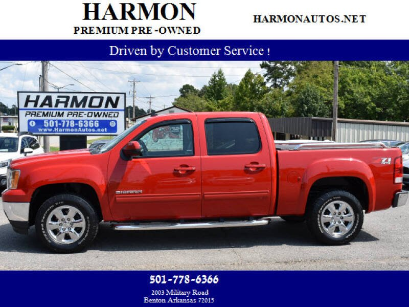 2013 GMC Sierra 1500 for sale at Harmon Premium Pre-Owned in Benton AR