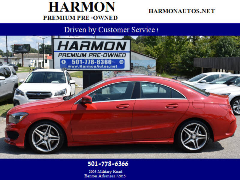 2014 Mercedes-Benz CLA for sale at Harmon Premium Pre-Owned in Benton AR