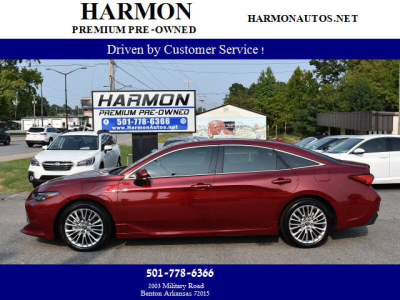 2019 Toyota Avalon for sale at Harmon Premium Pre-Owned in Benton AR