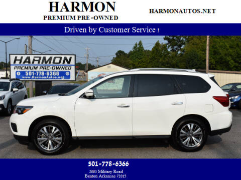 2019 Nissan Pathfinder for sale at Harmon Premium Pre-Owned in Benton AR
