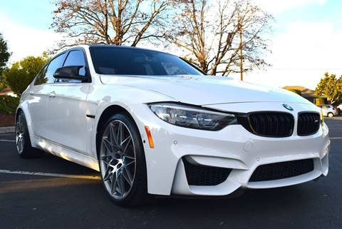2018 BMW M3 for sale at Rovcanin Motors in San Jose CA