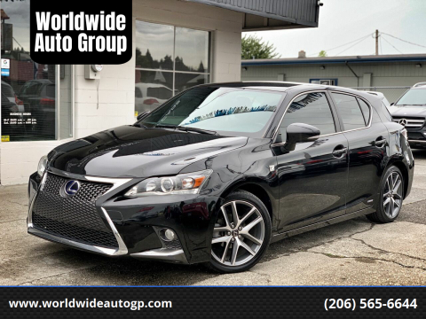 2016 Lexus CT 200h for sale at Worldwide Auto Group in Auburn WA
